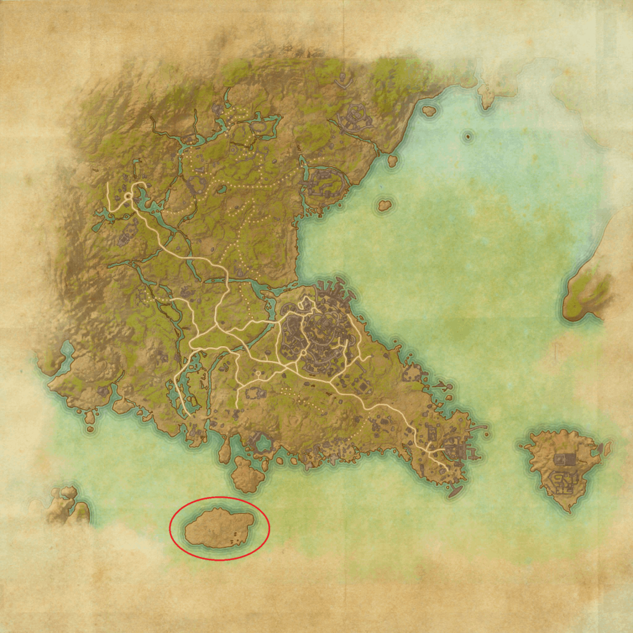 ESO - Map dragonhold.png