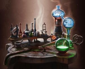 Les Ecoles de magie 300px-Alchimie