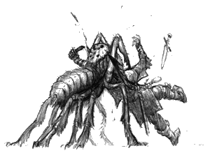 BESTIAIRE DE GUADALKEFUK Frostbitespider